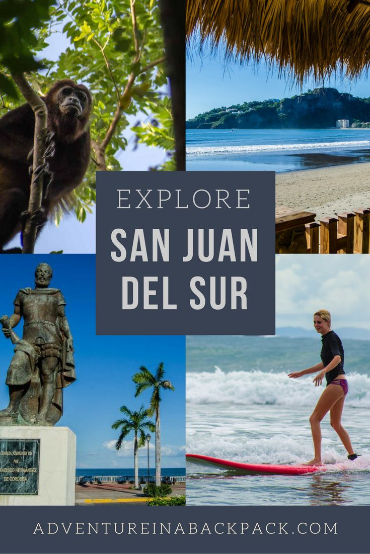 Hiking, surfing, and drinking beer on the beach - what more could you want?! Check out more of our favorite things to do in San Juan Del Sur! Nicaragua | Nicaraguan Adventures | Adventures in Nicaragua | Adventures in San Juan del Sur | Surfing | Surf Vacation