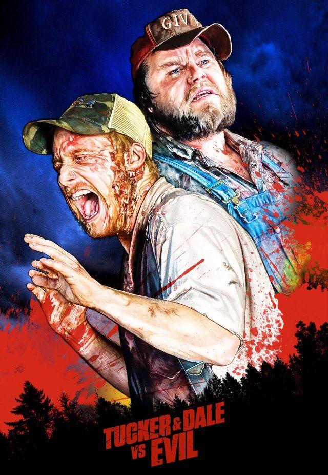 Tucker Dale Vs Evil Tucker And Dale Vs Evil Movie Poster Art Movie Art