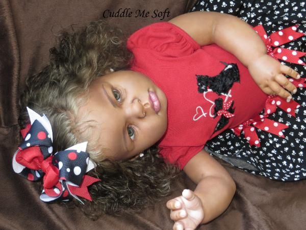 AA / Ethnic Biracial Reborn Toddler - SOLD / ADOPTED - www.cuddlemesoft.com