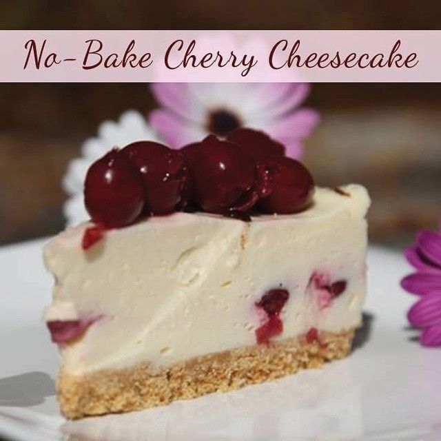 Perfect the art of fuss-free baking with this Cherry Cheesecake recipe!