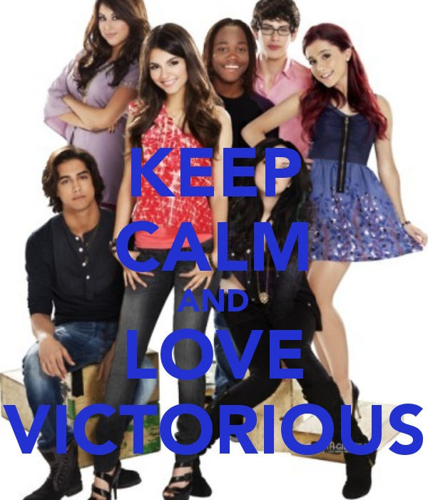 love victorius, my sister and I are always watching this show, it's actually not bad. Bahahahaha