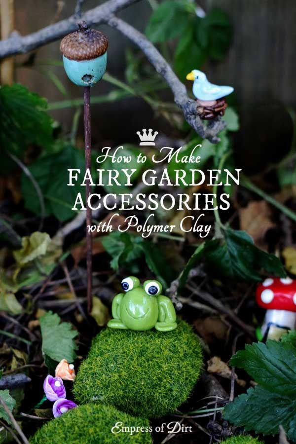 Easy DIY Fairy Garden Decor