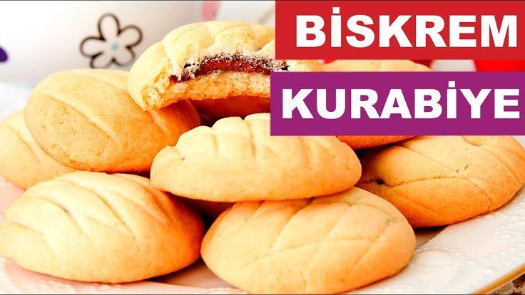 Biskrem Kurabiye Tarifi | Çikolatalı Kurabiye Nasıl Yapılır | Kurabiye T...