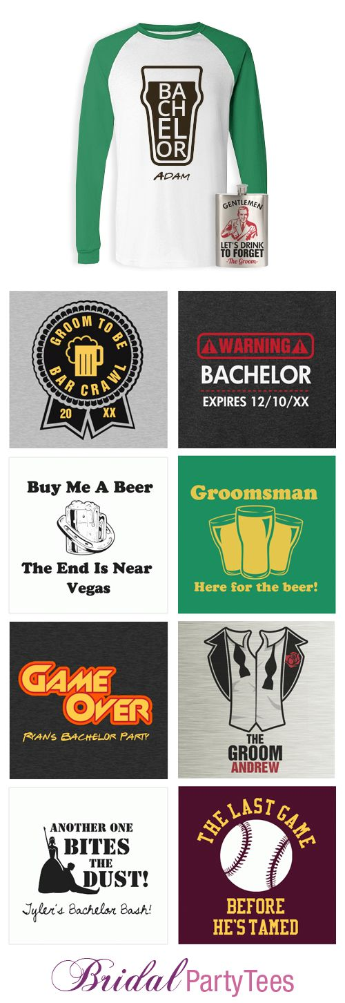 Custom Bachelor Party Shirts