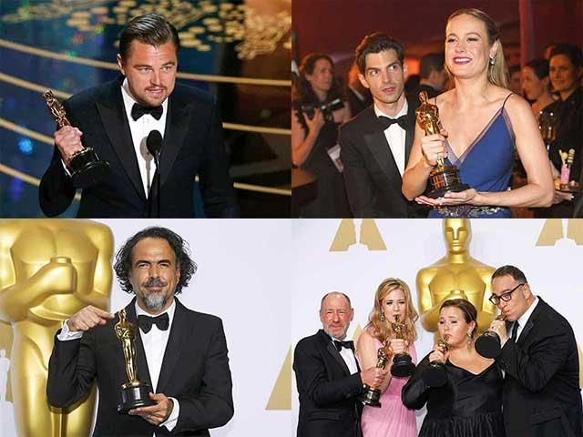 Slideshow : Complete list of winners at Oscars 2016 - Oscar winners 2016: Here's who won Academy Awards - The Economic Times