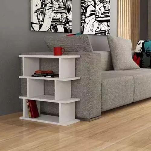 mueble repisa minimalista biblioteca moderna sala decoracion