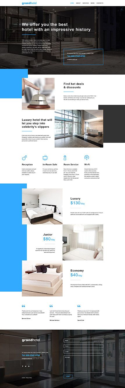 More Than Website Templates Available