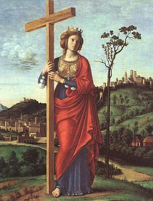 The Exaltation of the Holy Cross - Sept. 14 - The story of the finding of the…