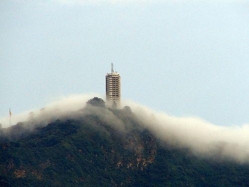 Humboldt Hotel, Ávila National Park, Caracas, Venezuela - Arrive by cable-car!