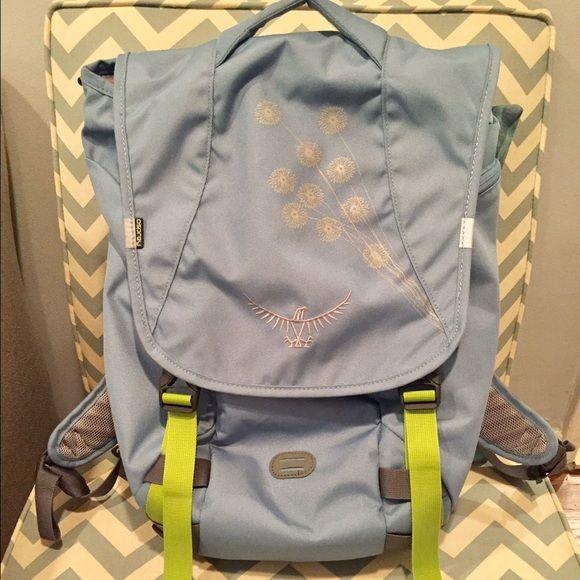 Osprey backpack with 5 compartments