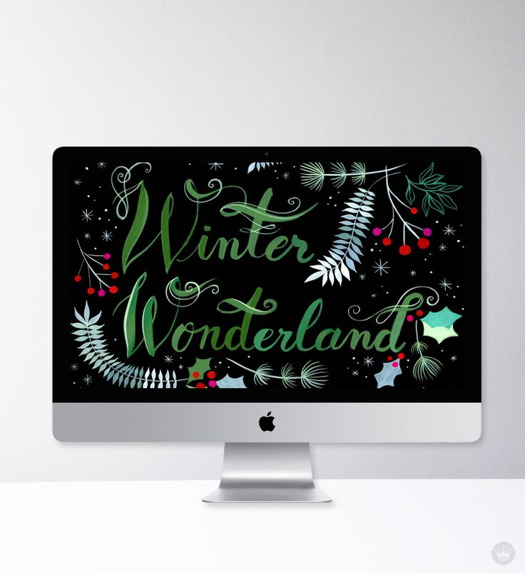 Festive and free desktop wallpapers for December - Think.Make.Share.
