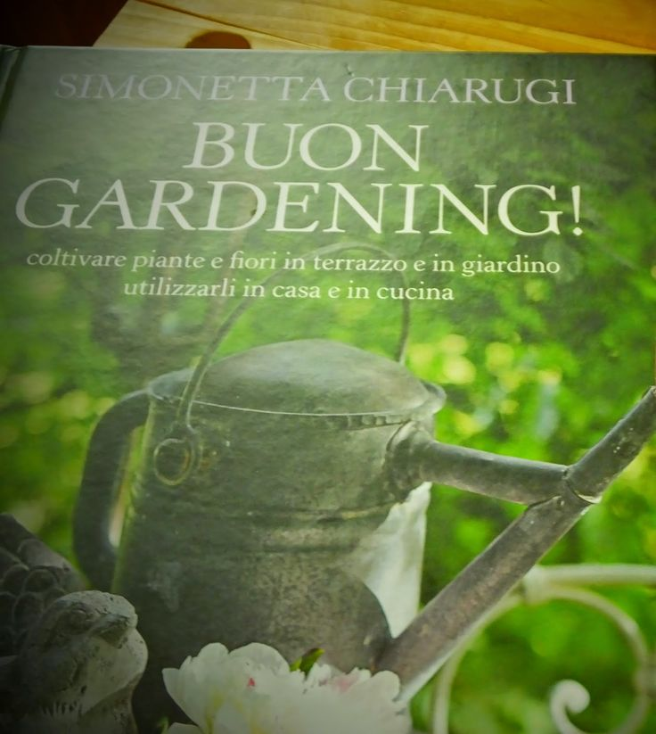 A casa di Sonia  Ho preso spunto dal libro Buon Gardening, davvero uno scrigno di belle suggestioni e mi sono messa all'oper