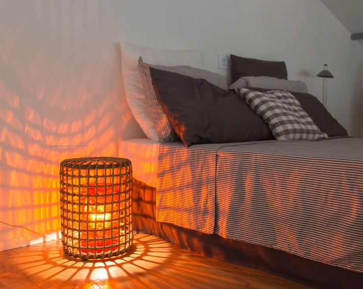 #bedroom #ligth #orange #kartell #wicker #interior #grey #minimal #ospedaletto57 #vacanzenellaia #romagna