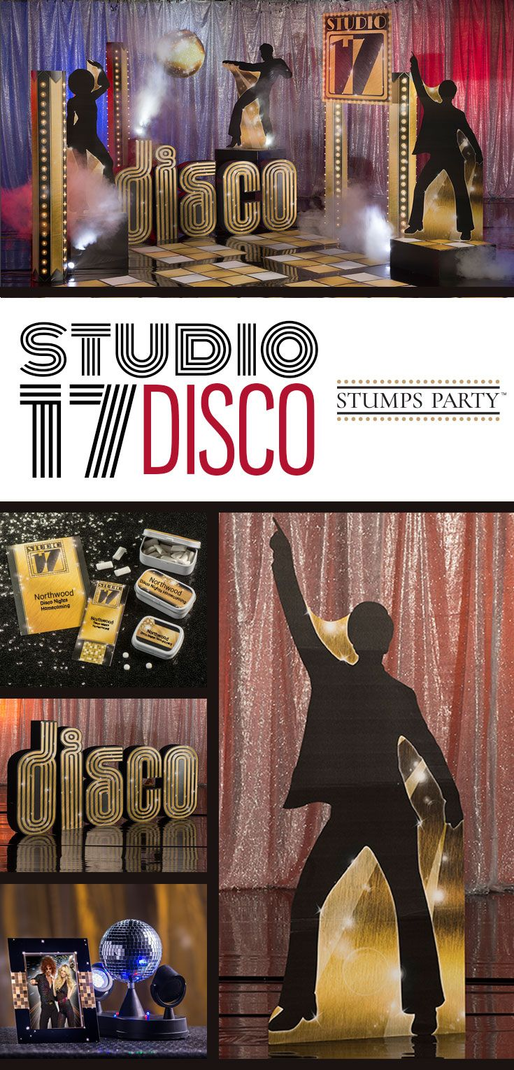 Get ready to get groovy with our Studio 17 Disco theme kit. Complement your event with personalized disco favors, invitations, and more! Shop all of our disco party supplies to make your event complete!