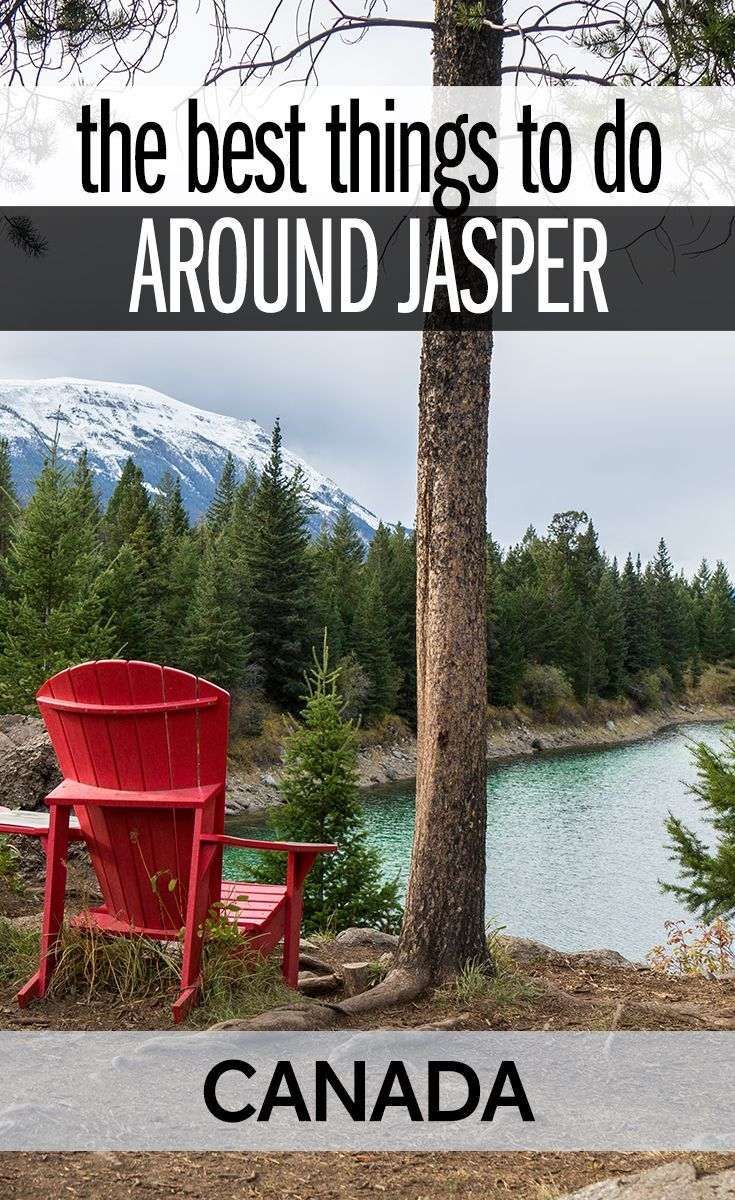By basing yourself in Jasper, you're just a short drive from many of the natural wonders of Canada. If you're wondering what to do in Jasper National Park, here is my list of things to see around Jasper.