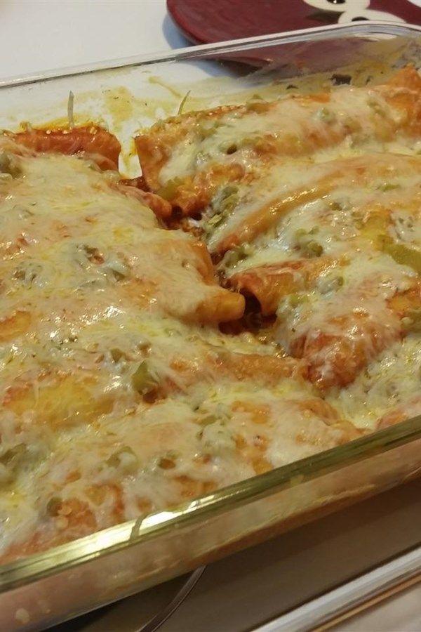 Recipe Chicken Enchiladas