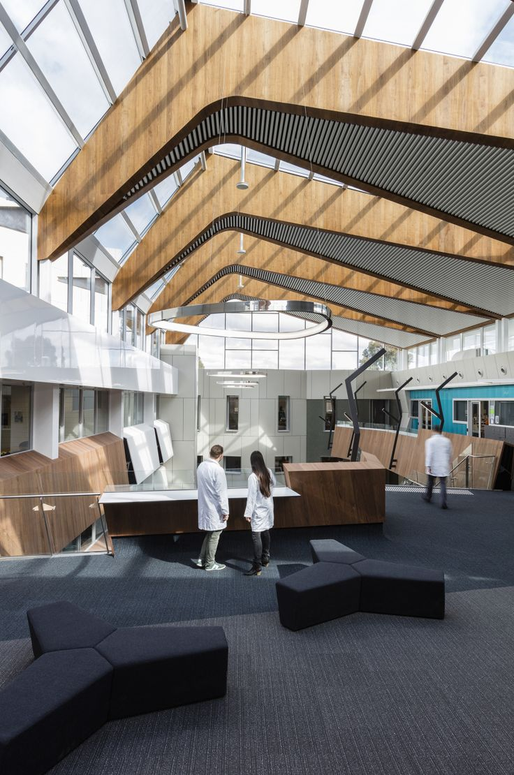 Deakin University, Burwood Campus, Melbourne DS Architects were engaged in  2014 to convert an