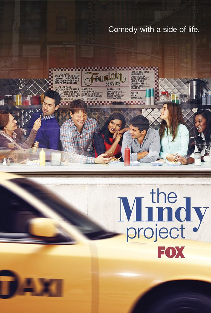 "Mindy Kaling's ""The Mindy Project"" is my favorite. #comedy #tv"