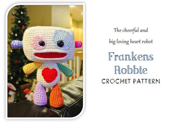 Frankens+Robbie+the+Robot+PDF+Pattern+by+amilovers+on+Etsy,+$5.00