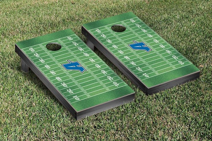 Assumption College Greyhounds Football Field Cornhole Board Set