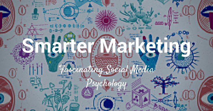 Here are the major findings of seven social media psychology studies that will make your marketing smarter. #sm #mkt