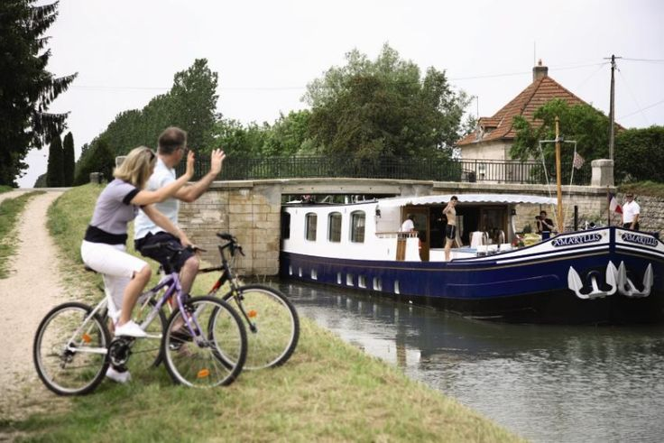 Cruise along the Burgundy Canal; exclusive wine tour http://ht.ly/MbbWA