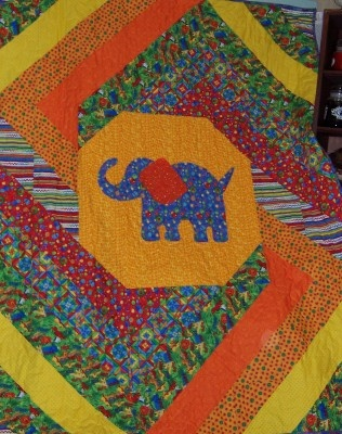 Bayberry Quilts : Elephant Quilt Class