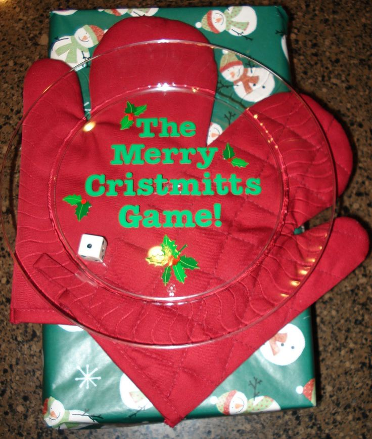 "Karen's Ideas Galore!: Merry ""Christmitts"" Game"