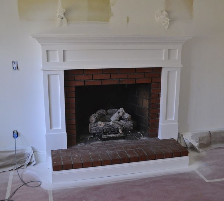 171 Best Mantles For My Ugly Red Brick Fireplace Images On