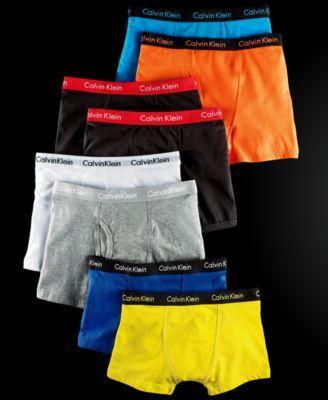 Calvin Klein Boys' 2-Pack Boxer Briefs | macys.com