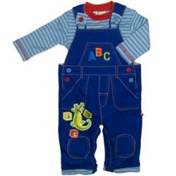 Cute licensed ABC4Kids dungarees and top. Sizes 000, 00, 0 & 1.