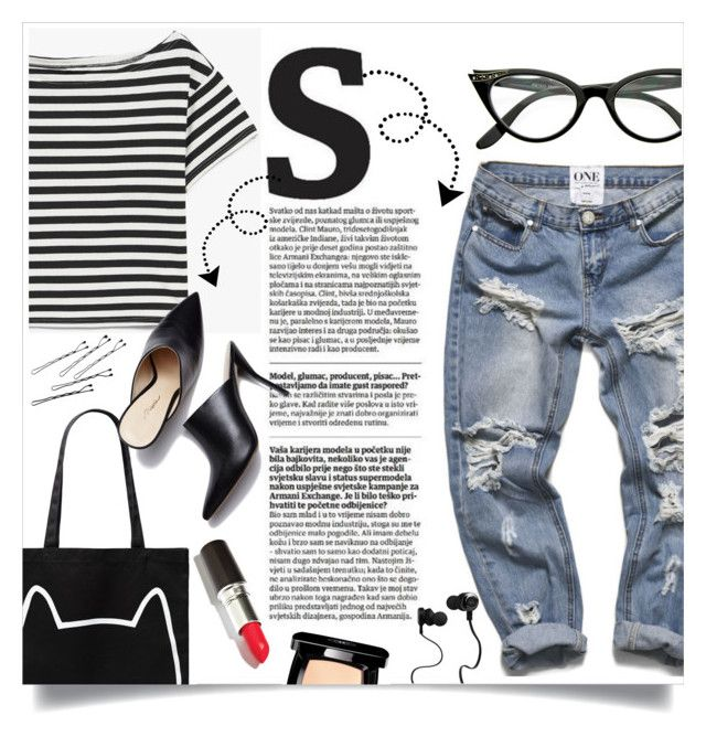 """""""Borrowed from the Boys: Boyfriend Jeans"""" by gabygrach ❤ liked on Polyvore featuring Forever 21, 3.1 Phillip Lim, Rochas, Chanel, Monster, boyfriendjeans, polyvoreeditorial and polyvorecontest"""