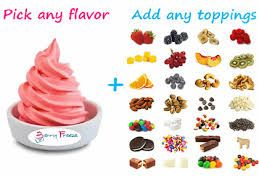 Risultati immagini per mini marshmallow frozen yogurt