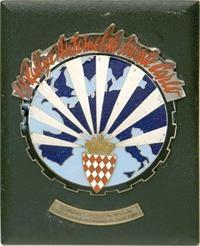 29th, Rallye, of, Monte, Carlo, 1960, Automobile, Grill, badge,