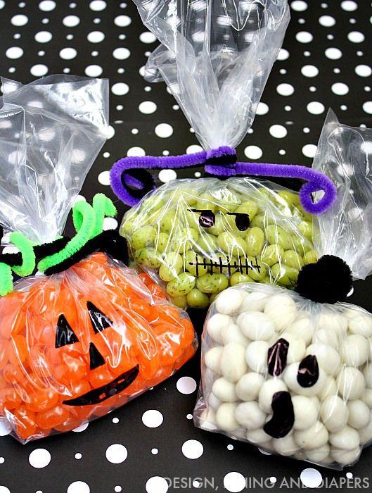 easy candy halloween treats - Halloween Decorations Food