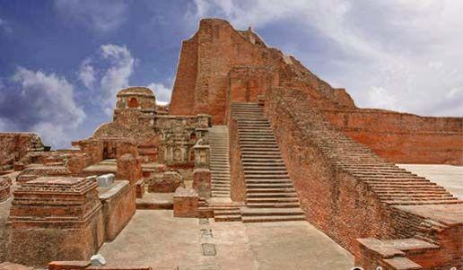 Nalanda for exploring the enchanting ruins