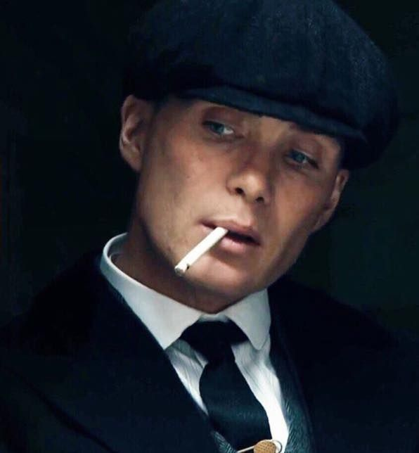 Cillian Murphy as Tommy Shelby.