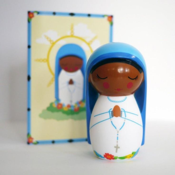 The Our Lady of Kibeho doll is a contemporary depiction of the well known and loved image of the Virgin of Kibeho that appeared in Rwanda in 1981.The Our Lady of Kibeho doll comes packaged in a lov…