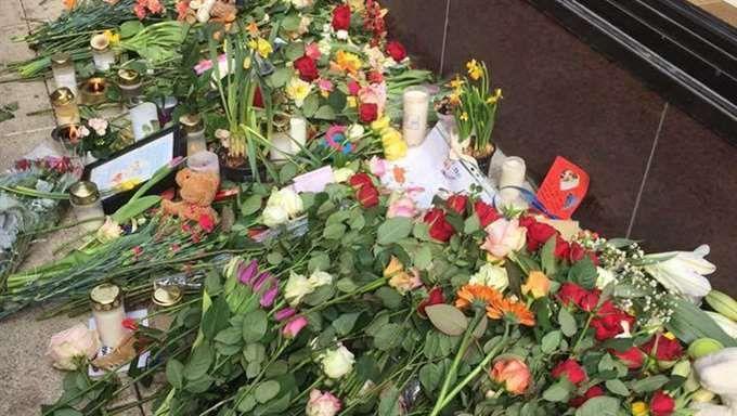 Minnesplatsen för Iggy på Drottninggatan. Foto: Privat