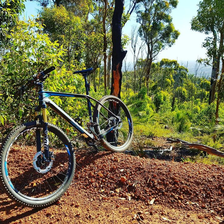 Mountain Biking in John Forrest National Park on Merida Bike