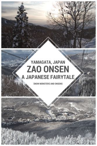 Zao Onsen in Yamagata, Japan, is a real fairytale. Snow monsters and hot springs await in this little Japanese town.