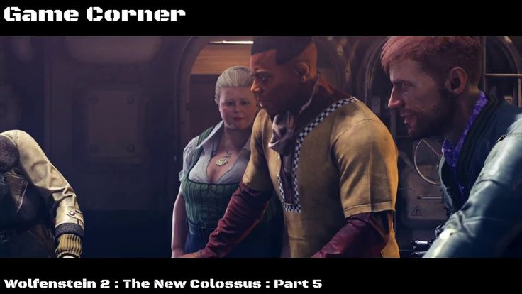 Wolfenstein 2 : The New Colossus : Part 5 welcome back at game corner today we start with Wolfenstein 2 The New Colossus. The New Colossus Walkthrough for PS4 Pro Xbox One X and PC. This Wolfenstein 2 looks amazing ;) We do all Campaign Missions Weapons Enemies Bosses New Gameplay and the Ending of the Single Player. And special thanks to Bethesda MachineGames and ID software for Wolfenstein 2! Wolfenstein II: The New Colossus is the eleventh installment of the Wolfenstein series and a…