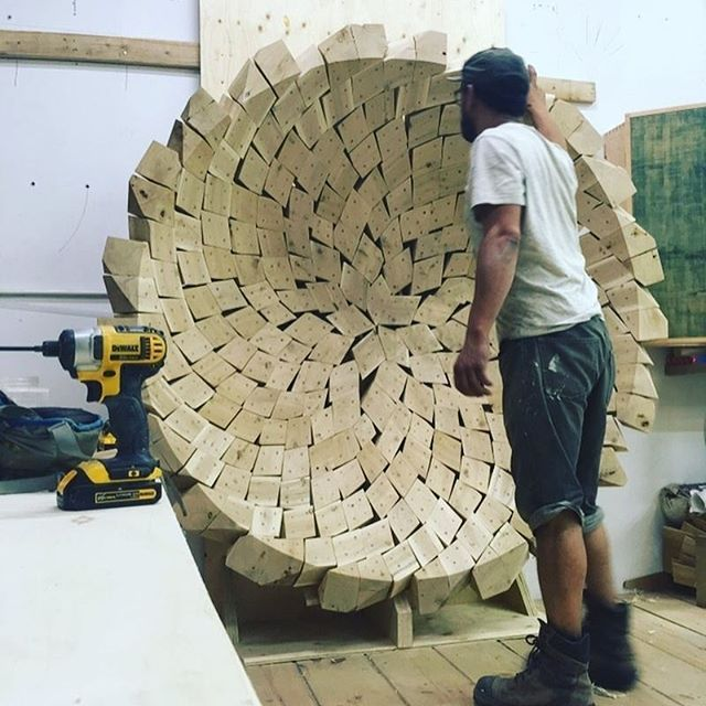 From @yorgoliapis. Sometimes you just need to make a huge wooden bowl out of hundreds of segmented pieces and blow people's minds. Awesome work man! . . . . #bestIGwoodworking #woodworking #woodwork #wood #wooden #woodcraft #woodporn #rustic #rusticdecor #custommade #handmade #furnituremaker #craftsman #artisan #handmade #homedecor #woodshop #workshop #tools #interiordesign #carpentry #carpenter #design #decor #modern #bespoke #woodgrain #mortiseandtenon #reclaimedwood #customwoodwork…
