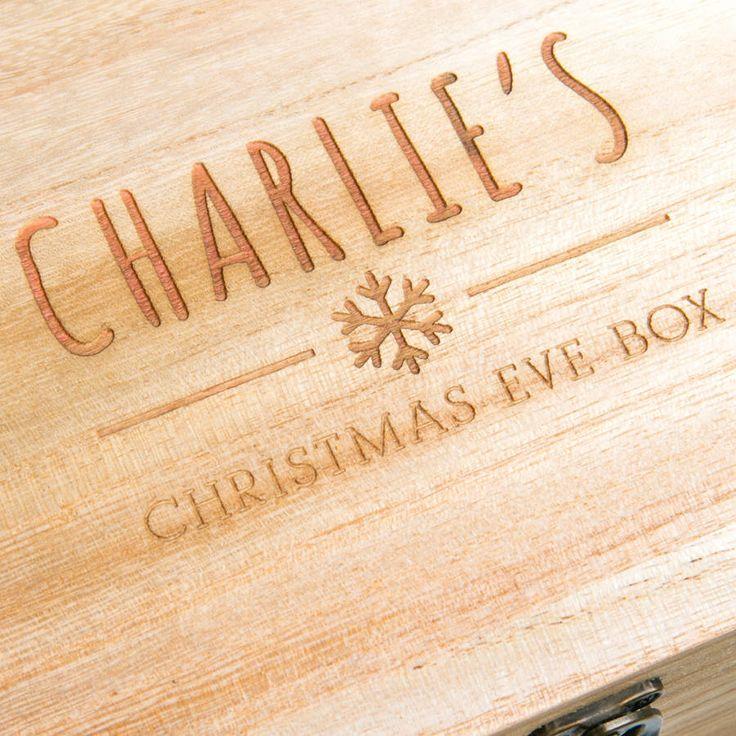 Personalised Children's Christmas Eve Box