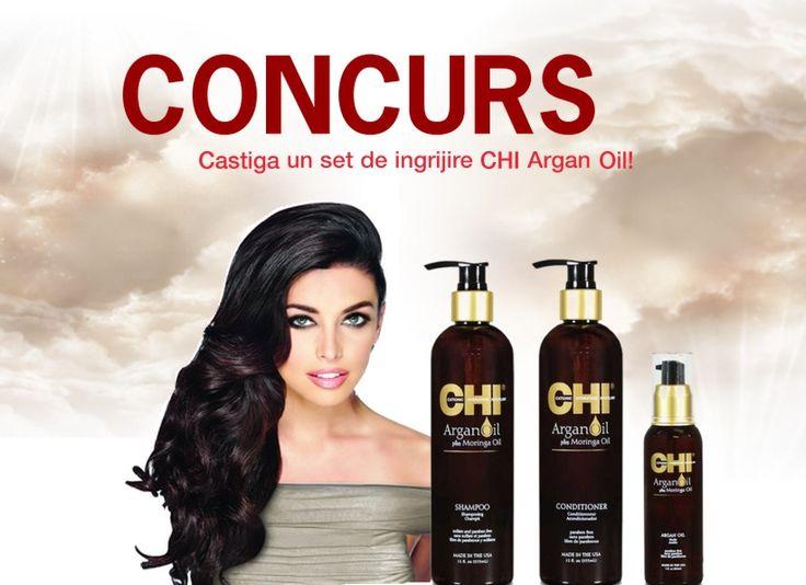CONCURS! Câştigă un set de îngrijire a părului CHI Argan Oil! 28 February, 2015 by Ioana Dumitrache / Concursuri, LIFESTYLE / 0 comment