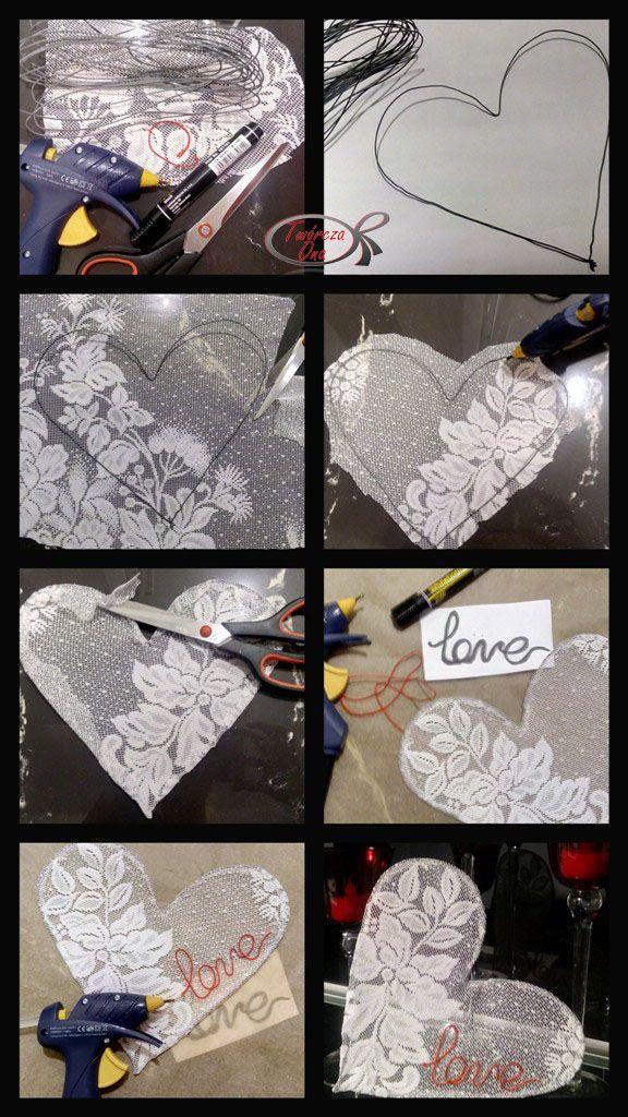 Piękne ażurowe serce, instrukcja krok po kroku wykonania tej ozdoby na Walentynki
