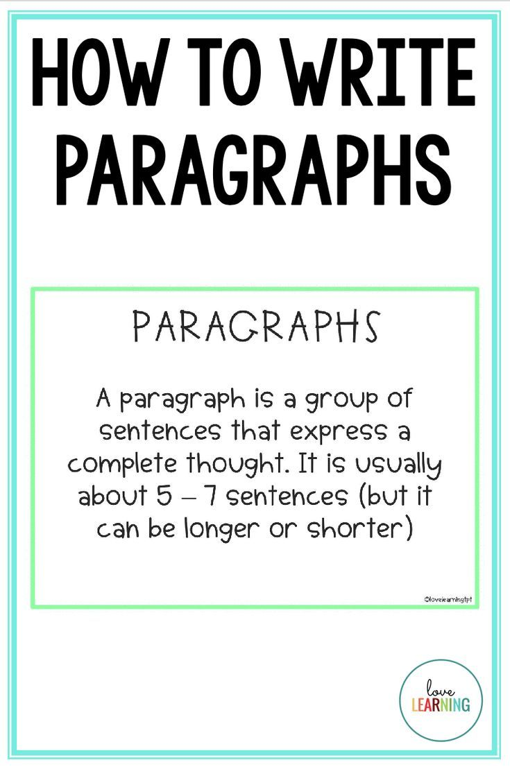 This strategy for writing paragraphs will transform your writing