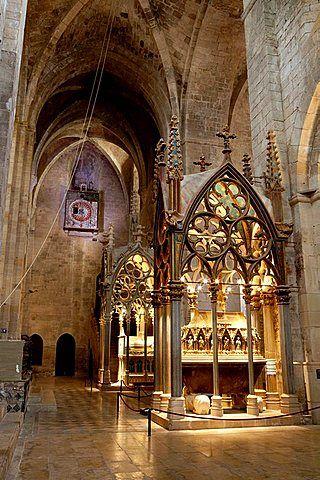 Monastery of Santes Creus - Reial Monasteri de Santes Creus - Ruta del Cister, Alt Camp, Tarragona, Catalonia