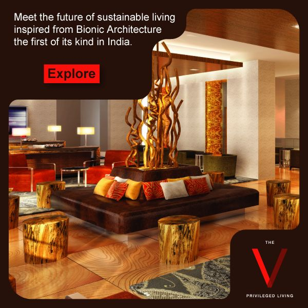The first of its kind Bionic living project in India, brought to you by The V.  Explore: http://bit.ly/TheVKolkata