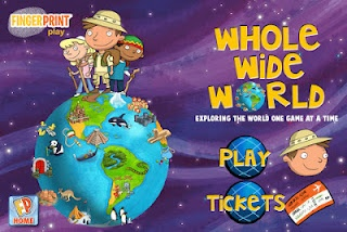 whole wide world FREE app to learn about geography, social studies and culture